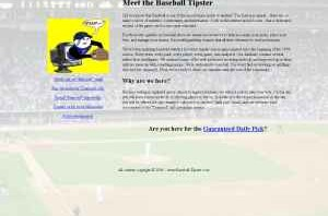 Baseball Tipster