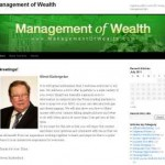 Management of Wealth