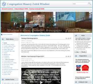 Shaarey Zedek Windsor v2.0