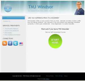 TMJ Windsor website