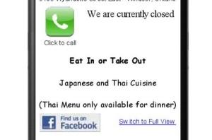 Marukin Steak & Sushi (Mobile version)