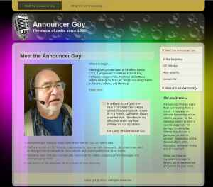 The Announcer Guy