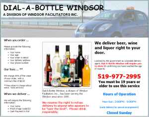 Dial-A-Bottle Windsor