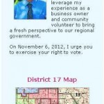 Campaign Website (mobile version)