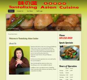 Tantalizing Asian Cuisine