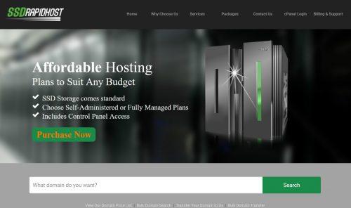 SSDRAPIDHOST Webhosting Inc.