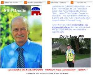 Campaign Website